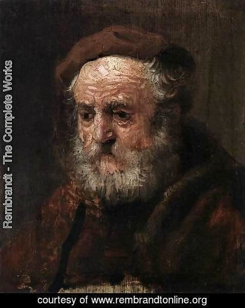 Rembrandt - Study Head of an Old Man