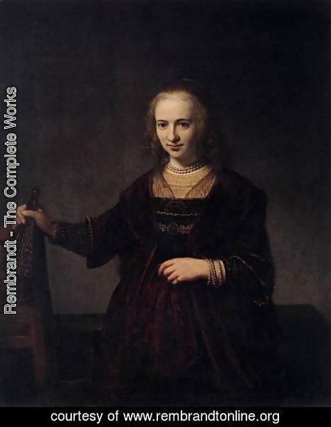 Rembrandt - Portrait of a Woman 3