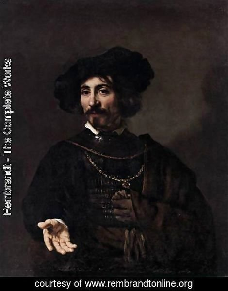 Rembrandt - Man with a Steel Gorget