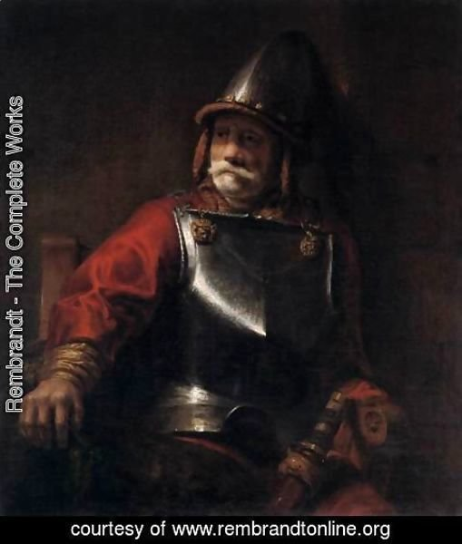 Rembrandt - Man in Armour (Mars)