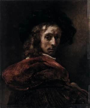 Rembrandt - Man in a Red Cloak