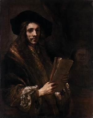 Rembrandt - Portrait of a Man (The Auctioneer)