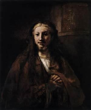 Rembrandt - Christ with a Staff