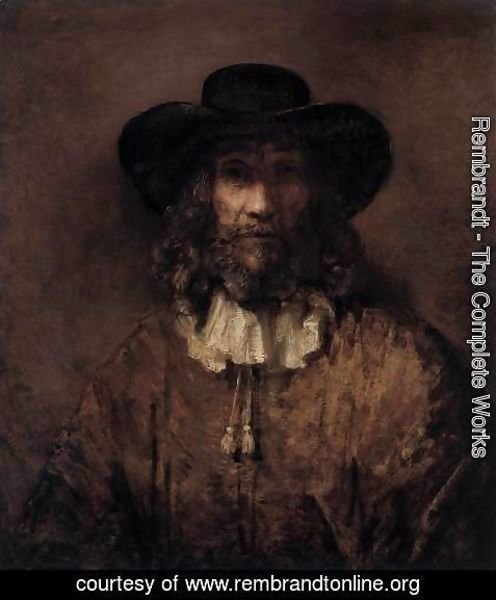Rembrandt - Man with a Beard 2