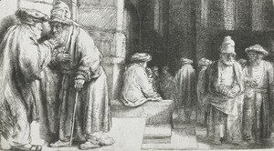 Pharisees in the Temple (Jews in the synagogue)