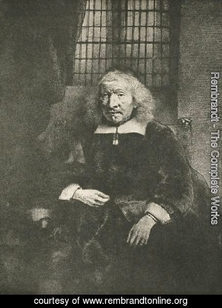 Rembrandt - Jacob Haring Portrait (The Old Haring )
