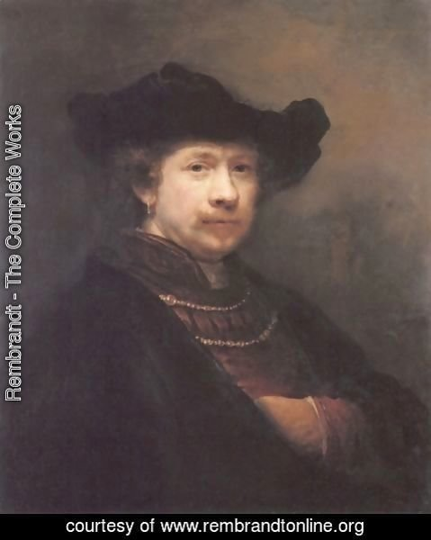 Rembrandt - Self-portrait 25
