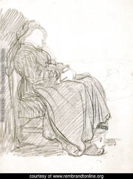 A Study of a Woman Asleep