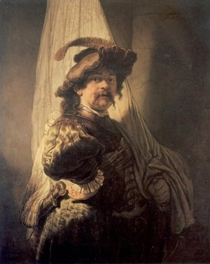 Rembrandt - The Standard Bearer