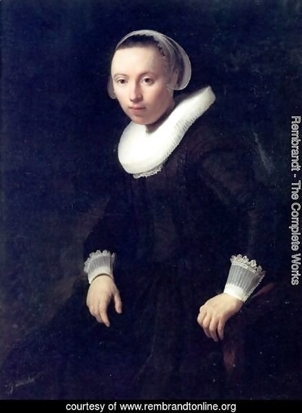A Portrait of a Young Woman