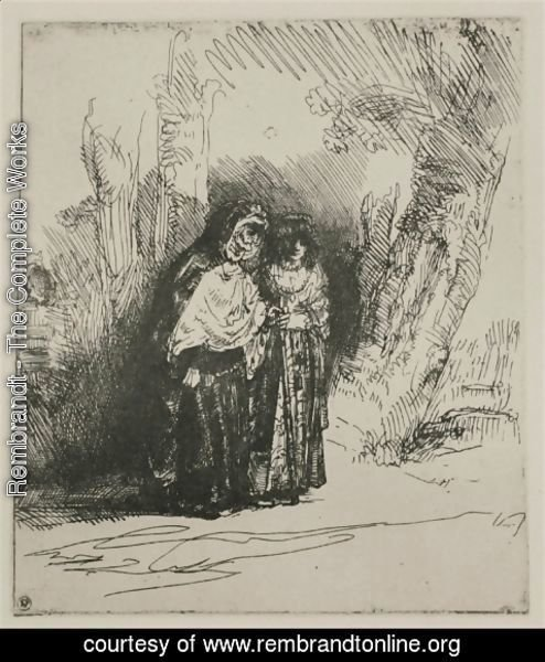 Rembrandt - The Spanish Gypsy