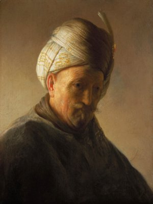 Rembrandt - Old man with turban
