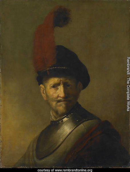 An Old Man in Military Costume (formerly called Portrait of Rembrandt's Father)