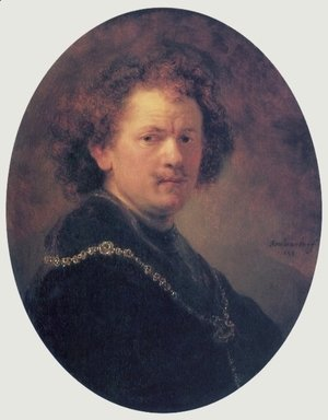 Rembrandt - Self-portrait 27