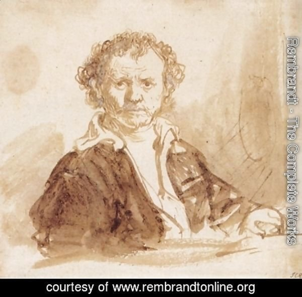 Rembrandt - Self-portrait 28