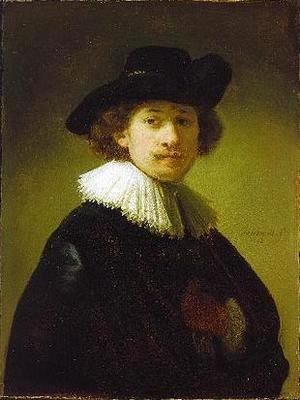 Rembrandt - Self-portrait with hat