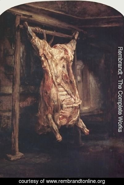 Rembrandt - The Carcass of an Ox