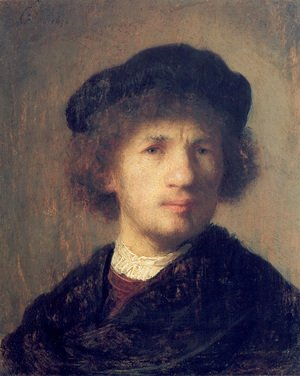 Rembrandt - Self-portrait 29