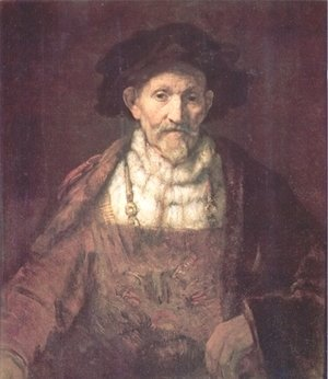 Rembrandt - Portrait of an Old Man in Red