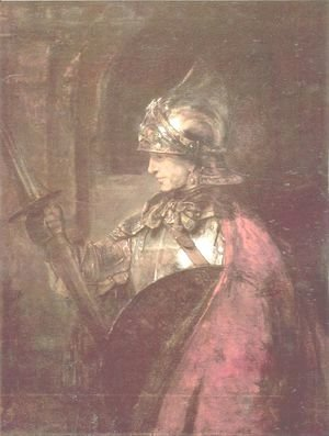 Rembrandt - A Man in Armour