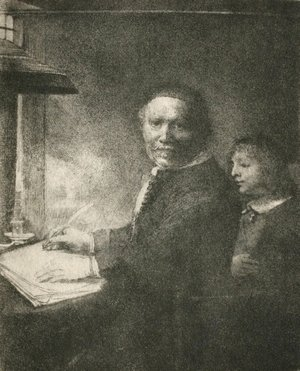 Rembrandt - Portrait of Lieven Willemsz van Coppenol