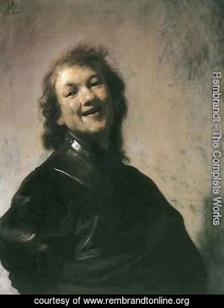 Rembrandt - The Young Rembrandt as Democritus the Laughing Philosopher