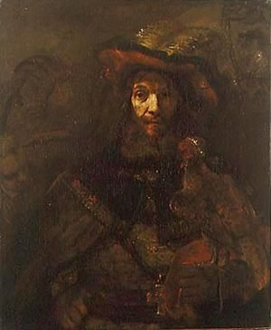 Rembrandt - The Knight with the Falcon