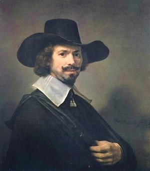 Rembrandt - Portrait of a Man 4