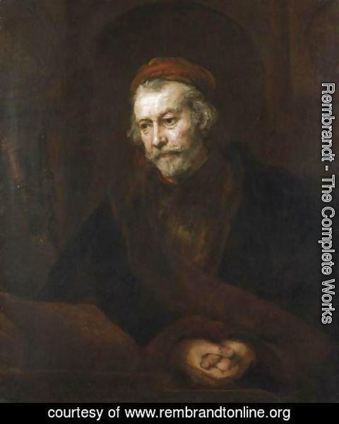 Rembrandt - The Apostle Paul 2