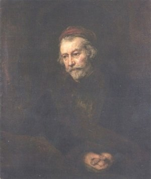 Rembrandt - Old man Dressed as Saint Paul