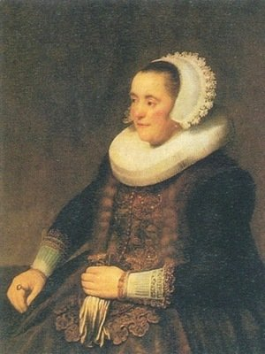 Rembrandt - Portrait of a Seated Woman