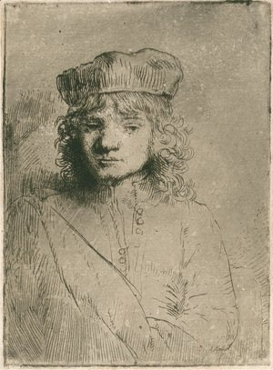 Rembrandt - The artist's son Titus