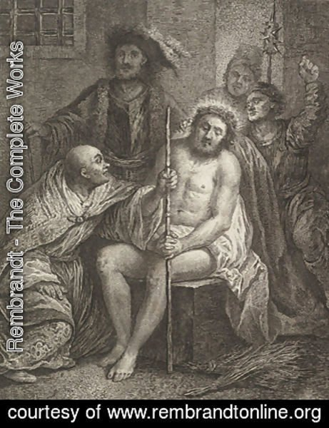 Rembrandt - Christ Crowned with Thorns
