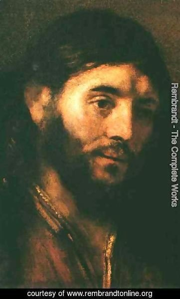 Rembrandt - Head of Christ