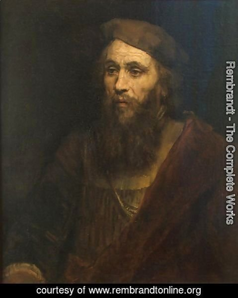 Rembrandt - Portrait of a Bearded Man