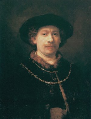 Rembrandt - Self-portrait 32
