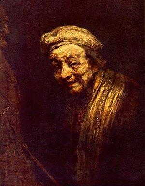 Rembrandt - Self-portrait 33