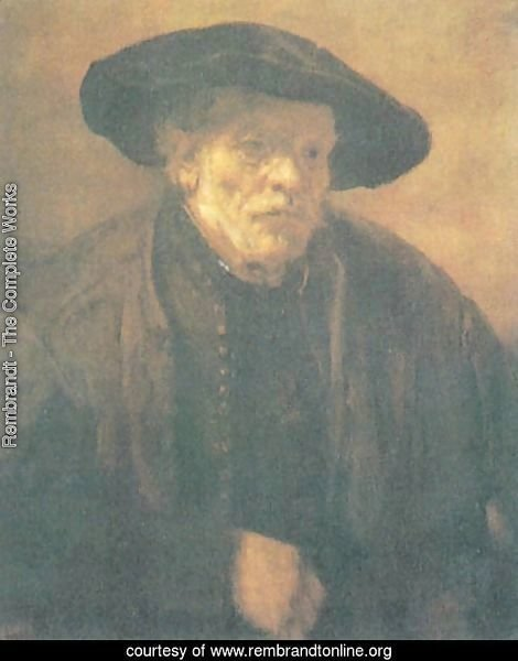 Old man with a Beret