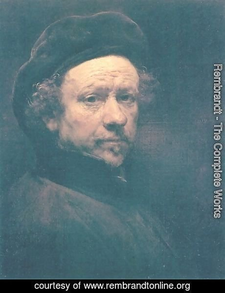 Rembrandt - Self-portrait 34