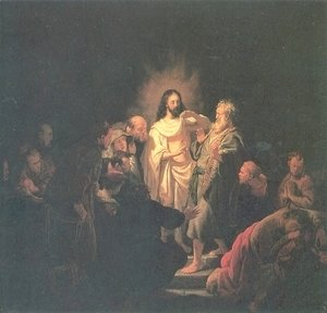 Rembrandt - Christ Resurected