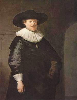Rembrandt - Portrait of a Man (possibly the poet Jan Harmensz Krul)