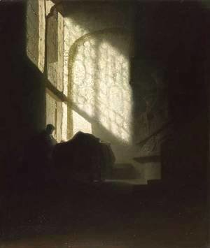 Rembrandt - A Man in a Room