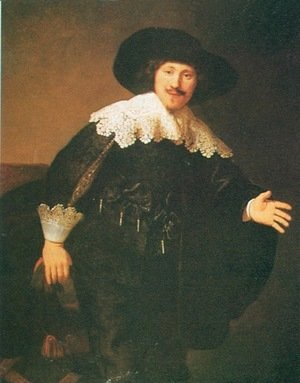 Rembrandt - Man Standing Up