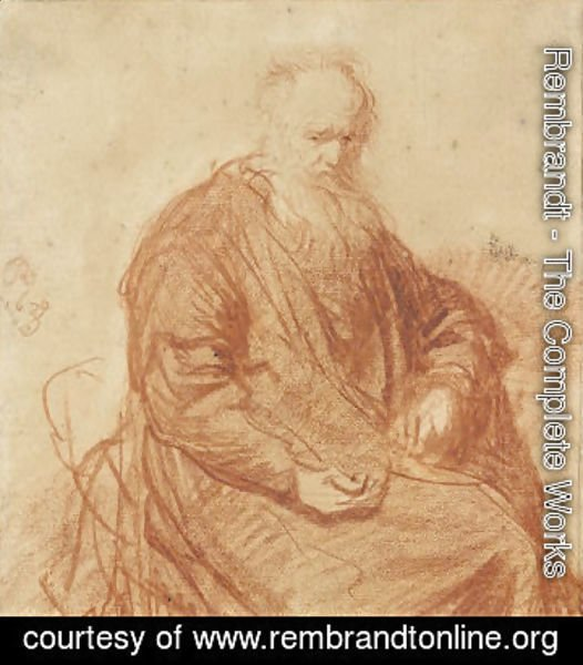 Rembrandt - Seated Old Man