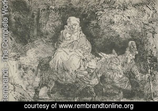 Rembrandt - Jesus and his Parents Returning from Jerusalem