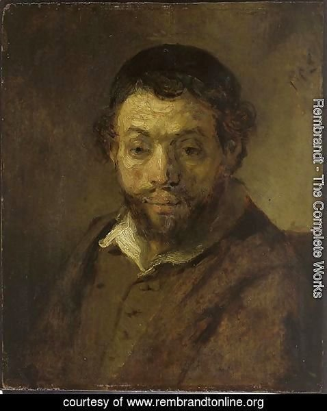 Portrait of a Jewish Young Man
