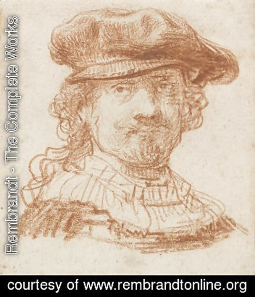 Rembrandt - Self-portrait 38