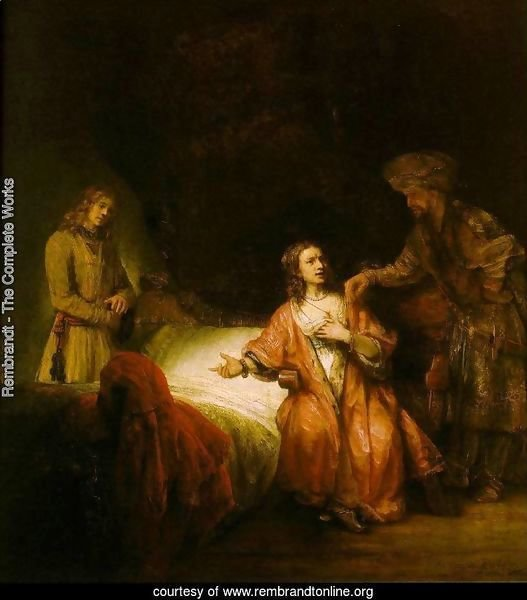 Joseph Accused by Potiphar's Wife 1655