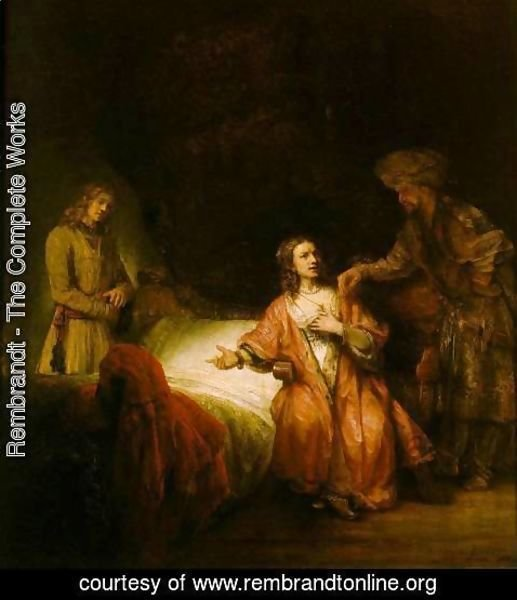 Rembrandt - Joseph Accused by Potiphar's Wife 1655