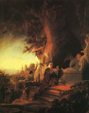 Rembrandt - The Risen Christ Appearing to Mary Magdalen 1638
